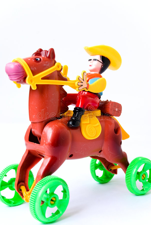 Brinquedo do cavalo fotografia de stock royalty free