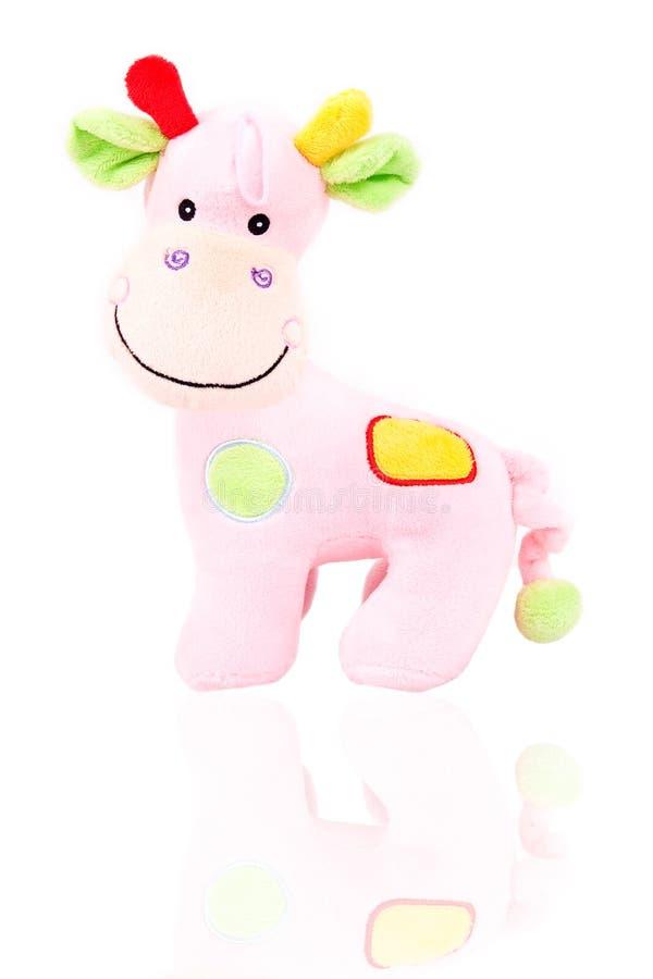 Brinquedo do Giraffe foto de stock