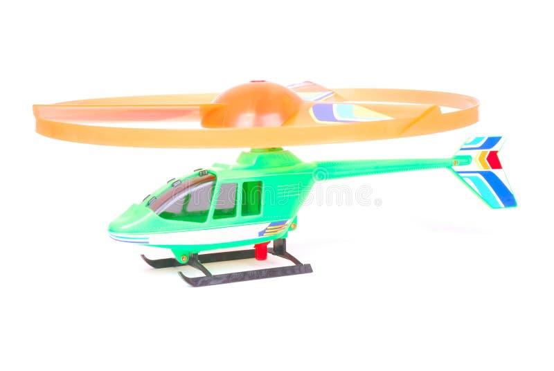 Brinquedo do helicóptero foto de stock
