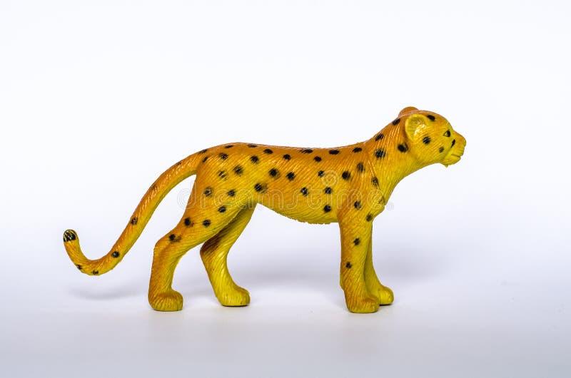 Brinquedo do leopardo imagens de stock