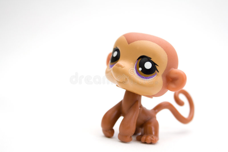 Brinquedo do macaco foto de stock royalty free