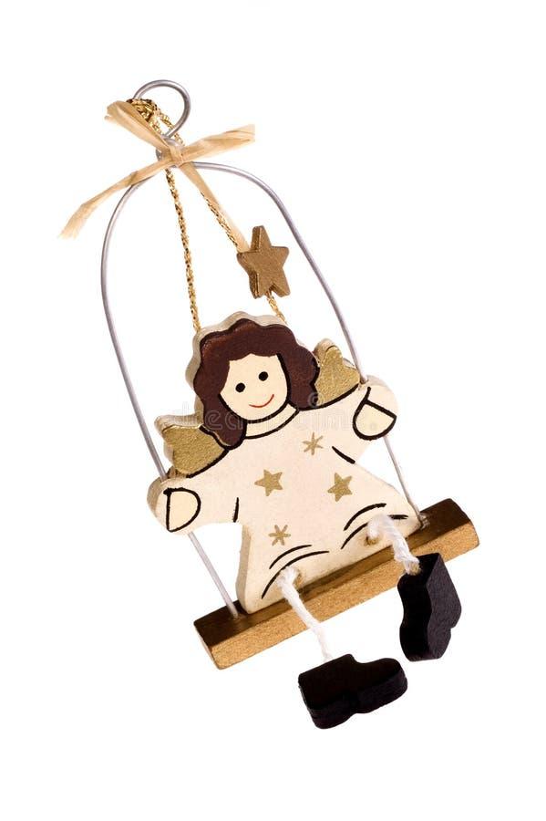 Brinquedo do Natal. anjo fotografia de stock royalty free