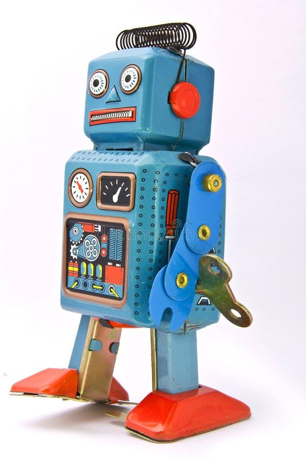 Brinquedo do robô foto de stock