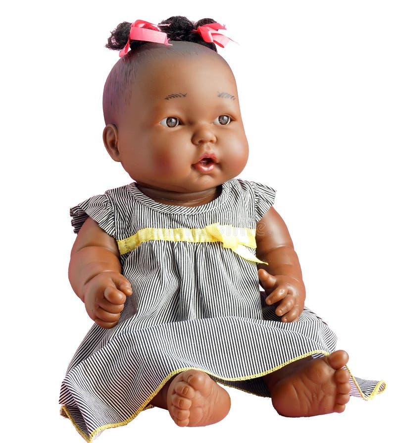Brinquedo do ` s das crianças - uma boneca fotografia de stock