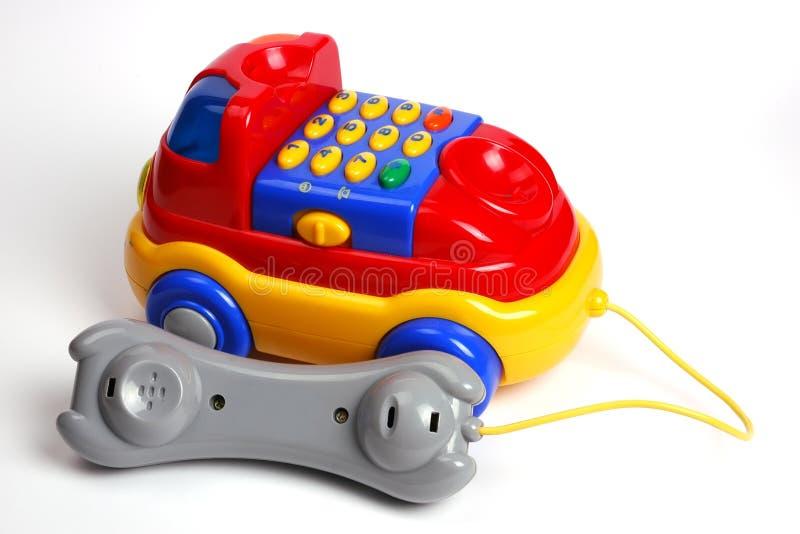 Brinquedo do telefone do carro fotografia de stock royalty free
