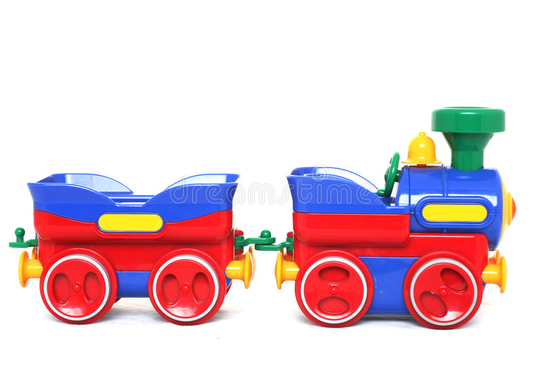 Brinquedo Do Trem Foto de Stock