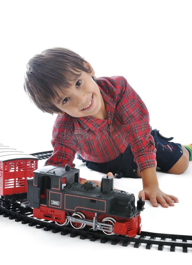 Brinquedo do trem, atual fotos de stock