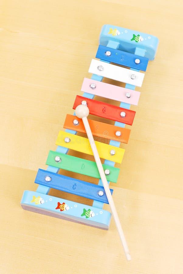 Brinquedo do Xylophone imagens de stock royalty free