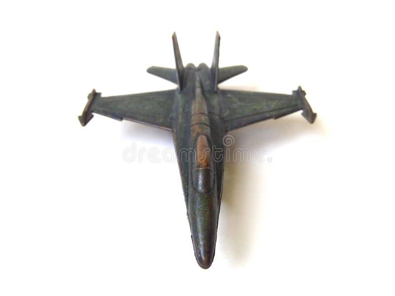 Brinquedo dos aviões do metal fotografia de stock