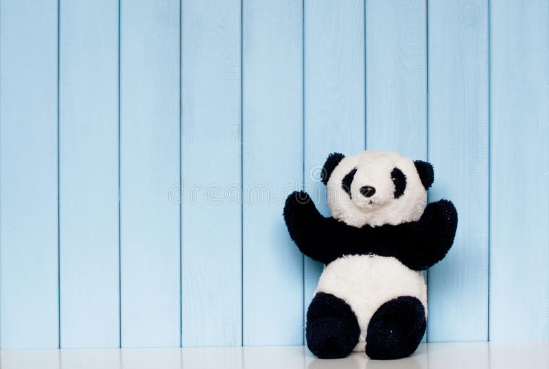 Brinquedo macio da panda fotografia de stock royalty free