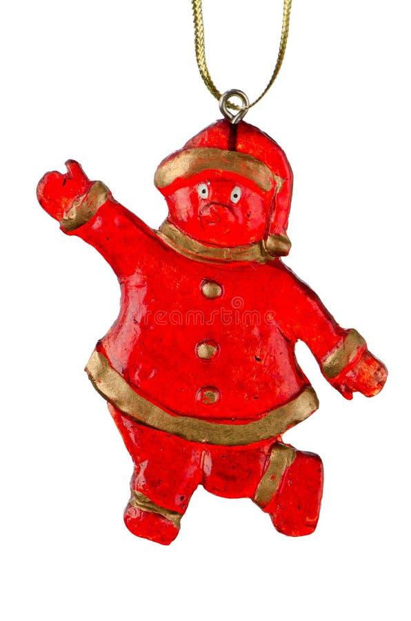 Brinquedo Papai Noel do Natal fotos de stock royalty free