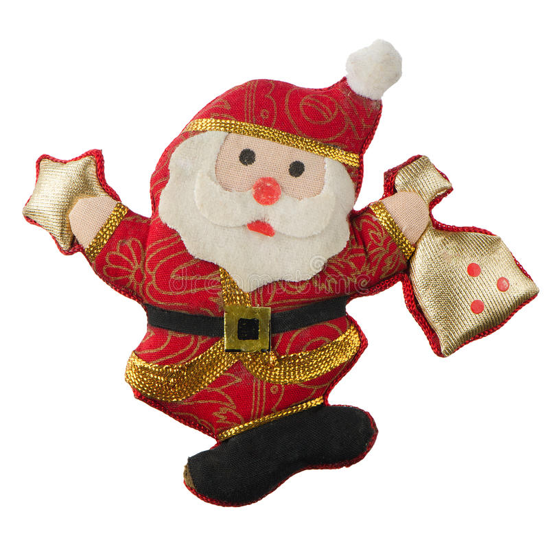 Brinquedo Papai Noel do Natal imagem de stock