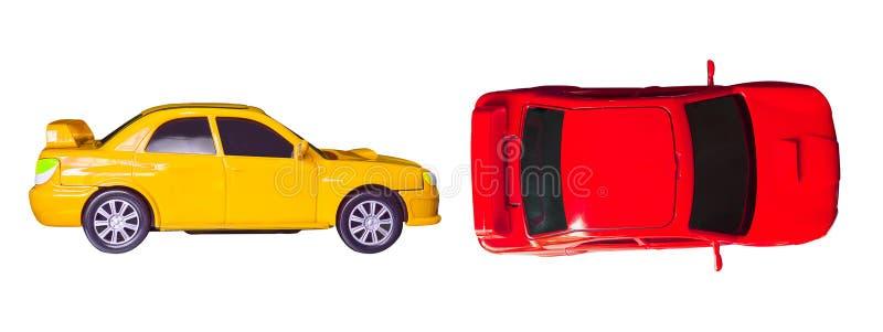 Brinquedo pequeno do carro fotos de stock royalty free