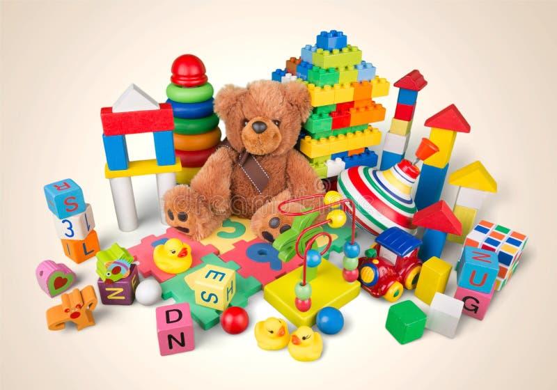 Brinquedos fotografia de stock