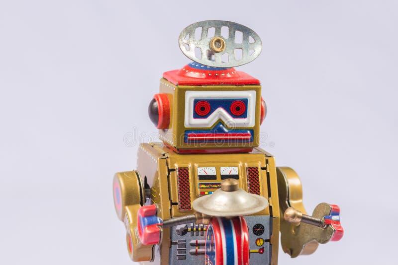 Brinquedos clássicos do robô fotos de stock