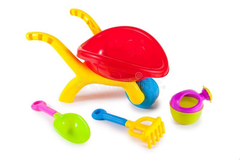 Brinquedos coloridos para crianças imagem de stock