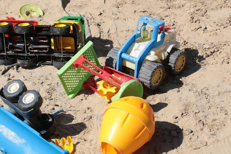 Brinquedos criançolas do transporte imagem de stock royalty free