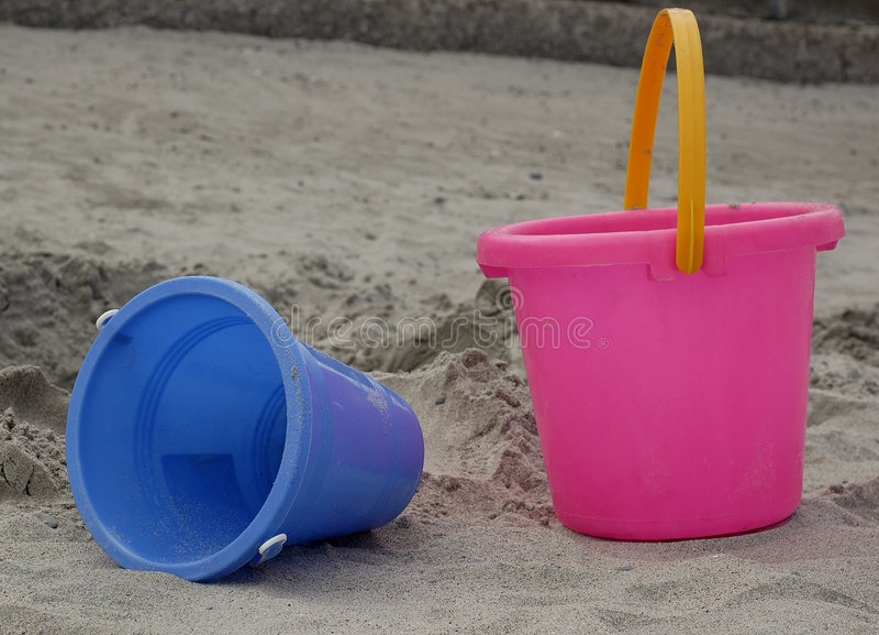 Brinquedos da praia imagem de stock royalty free