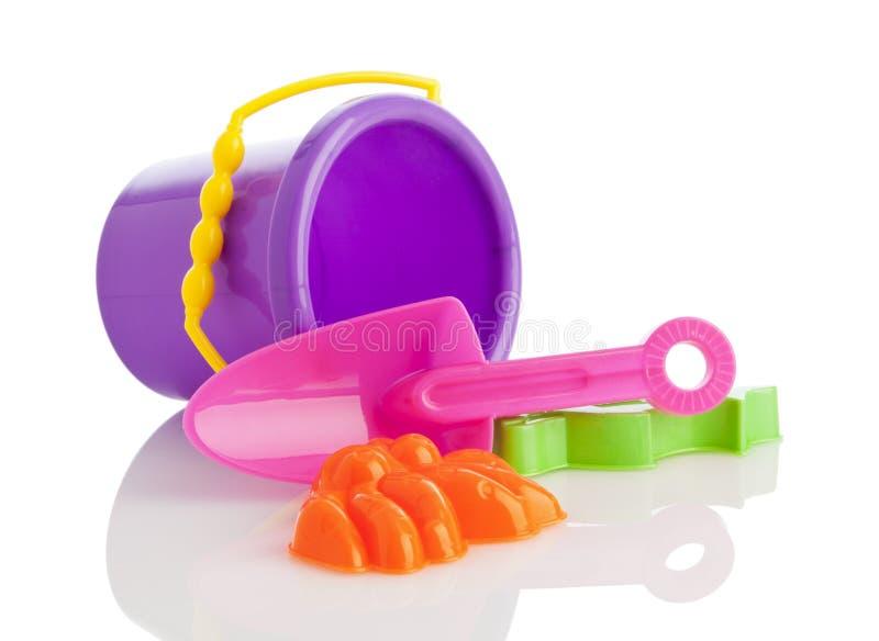 Brinquedos da praia fotos de stock royalty free