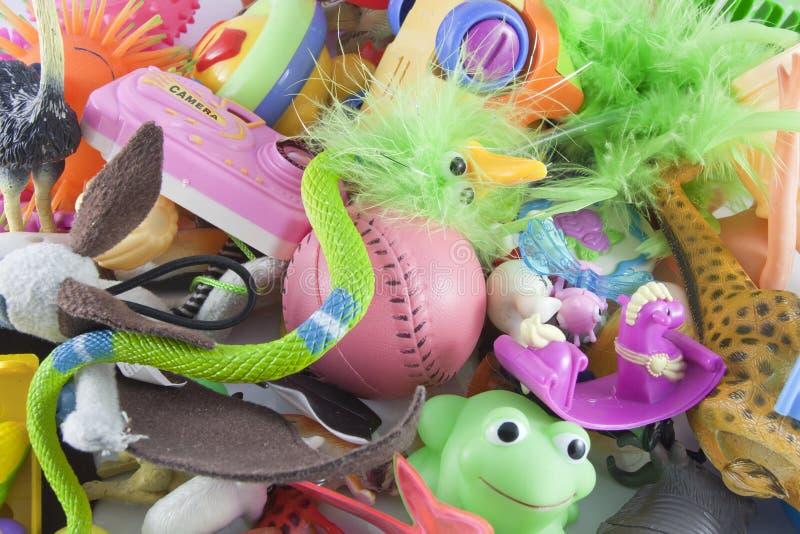 Brinquedos das crianças foto de stock