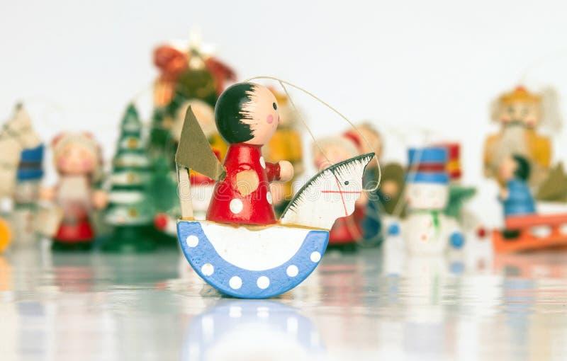 Brinquedos de Christmass fotos de stock