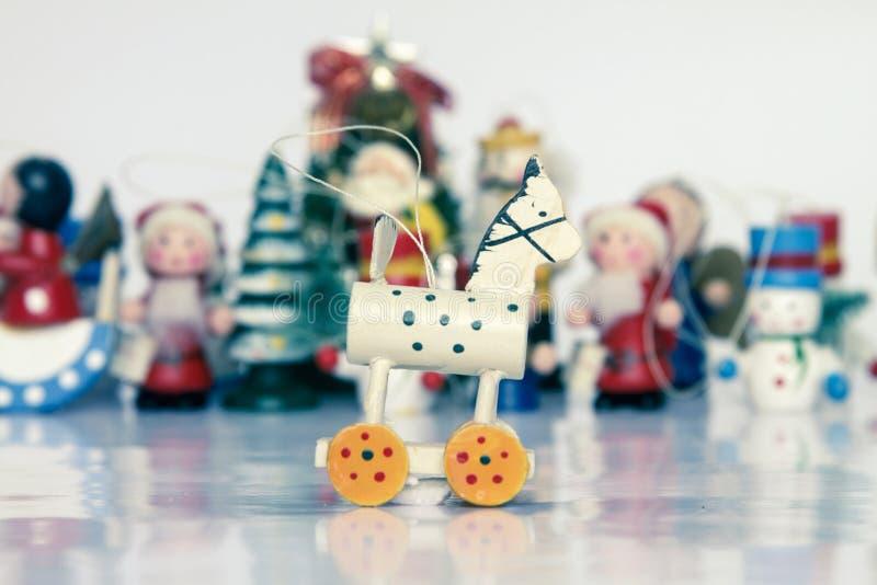 Brinquedos de Christmass fotos de stock royalty free