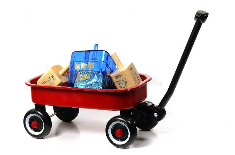 Brinquedos De Hanukkah Foto de Stock Royalty Free
