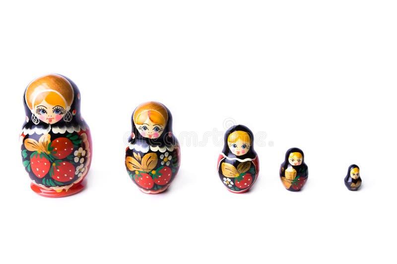 Brinquedos de Matrushka imagens de stock royalty free