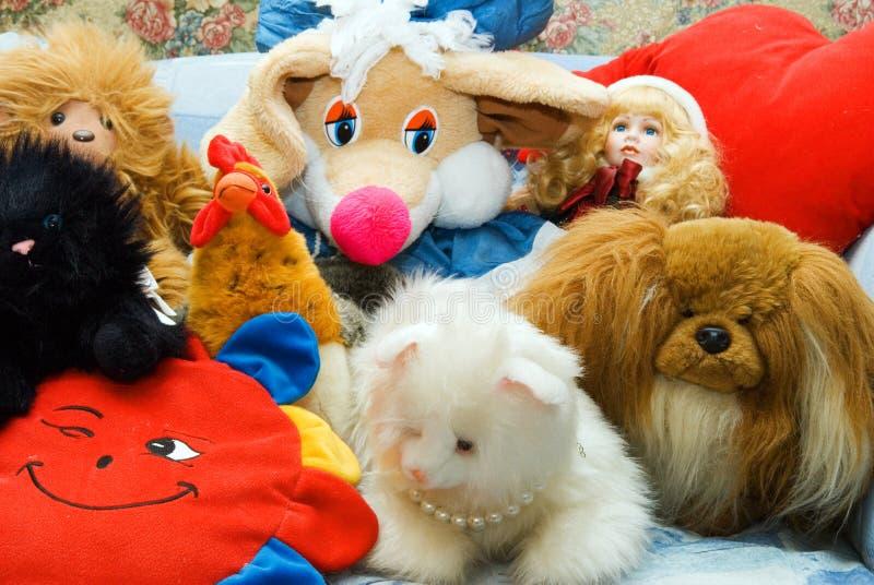Brinquedos de Ordinar imagem de stock