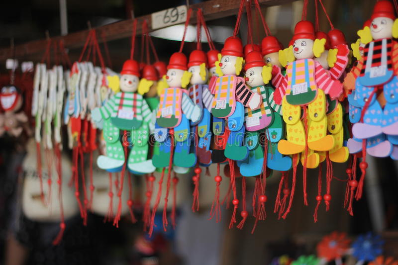Brinquedos de Tailândia imagens de stock royalty free