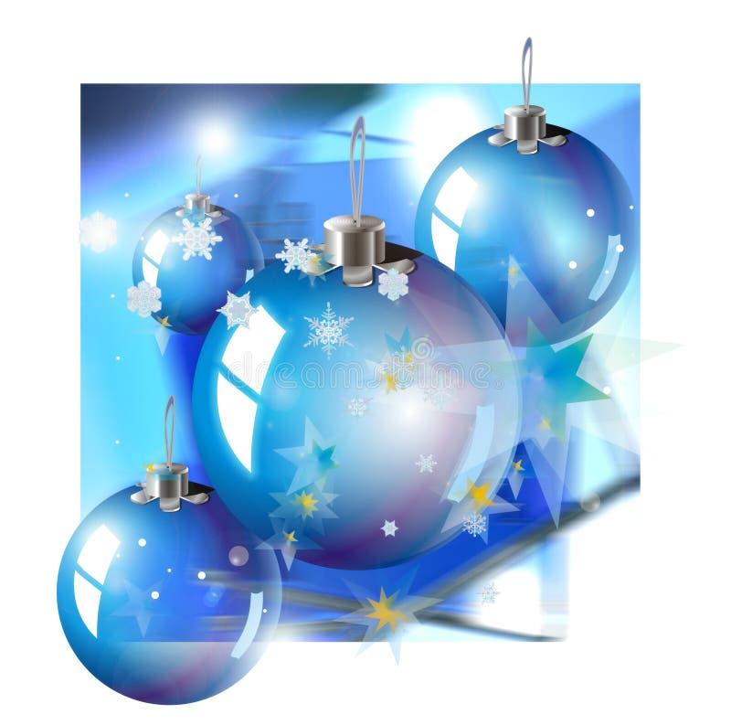 Brinquedos do Natal ilustração do vetor