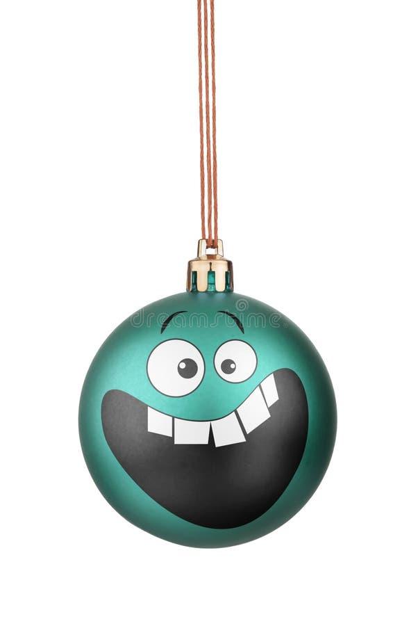Brinquedos do Natal dos smiley fotografia de stock royalty free