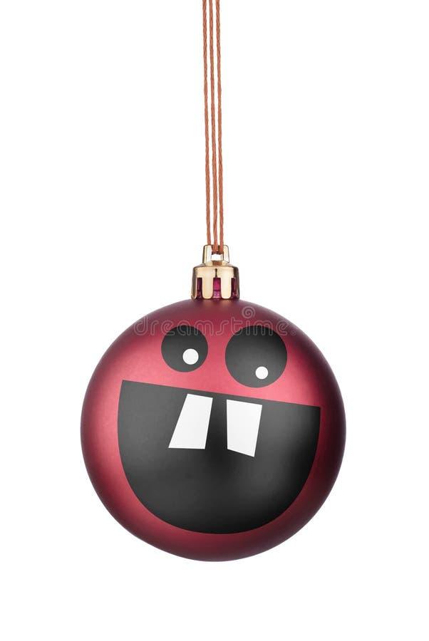 Brinquedos do Natal dos smiley imagem de stock royalty free