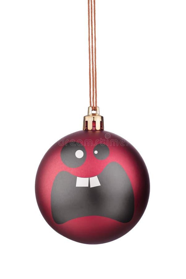 Brinquedos do Natal dos smiley imagens de stock royalty free