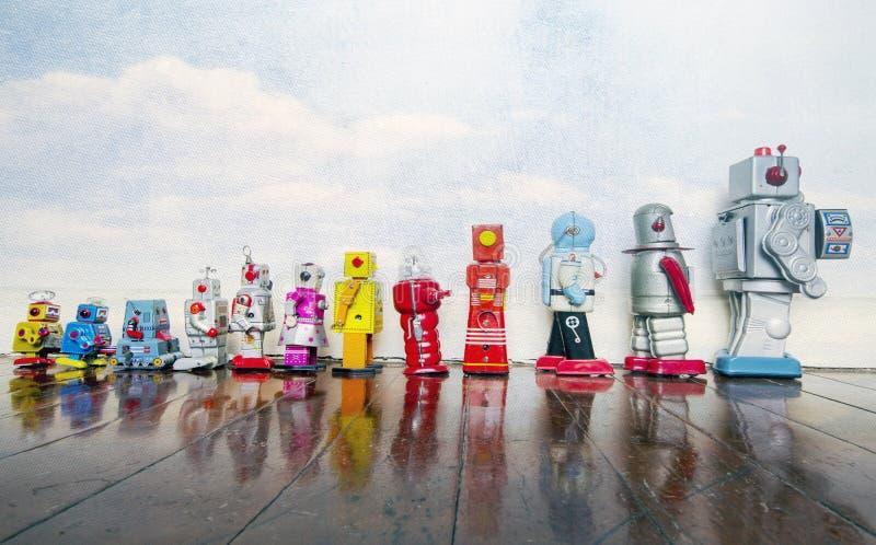 Brinquedos do vintage foto de stock
