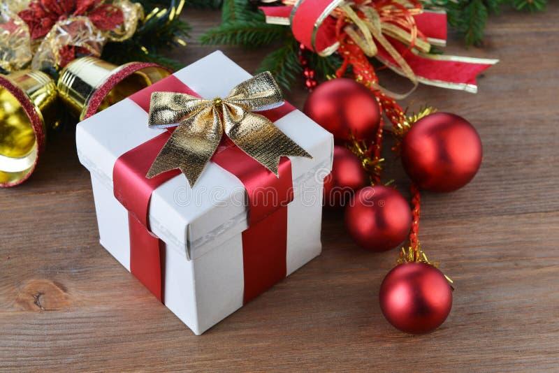 Brinquedos e presentes do Natal foto de stock