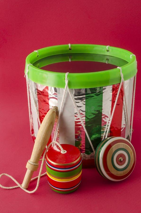 Brinquedos mexicanos tradicionais para o Dia da Independência mexicano imagem de stock