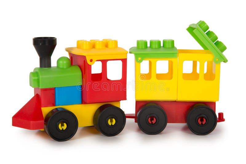 Brinquedos plásticos coloridos foto de stock