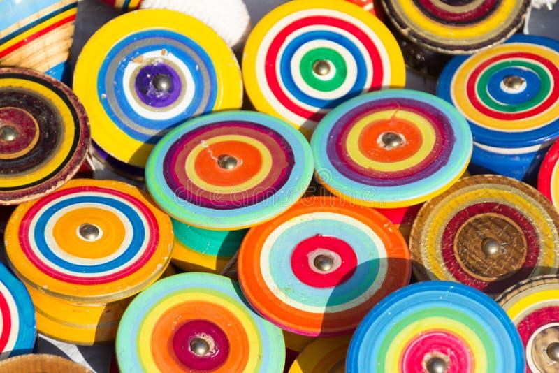 Brinquedos tradicionais mexicanos do yo do yo fotografia de stock