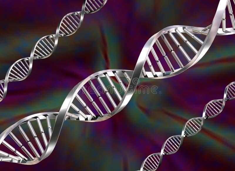 Brins d'ADN illustration de vecteur