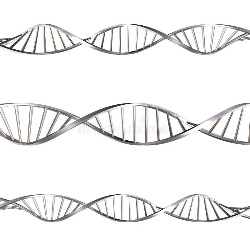 Brins d'ADN illustration stock