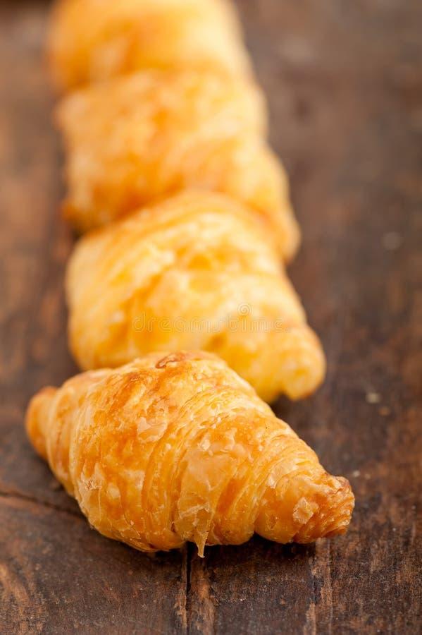 Brioche fraîche de Français de croissant image stock