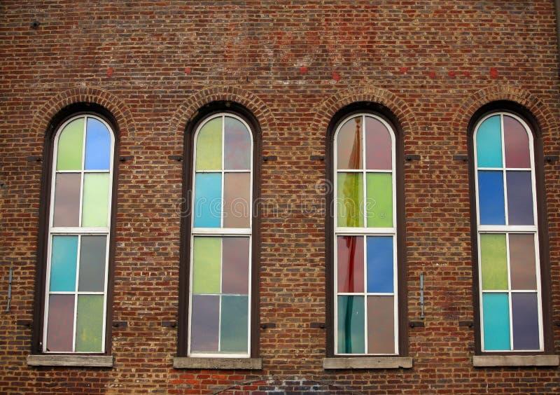 Brique à Nashville photographie stock libre de droits