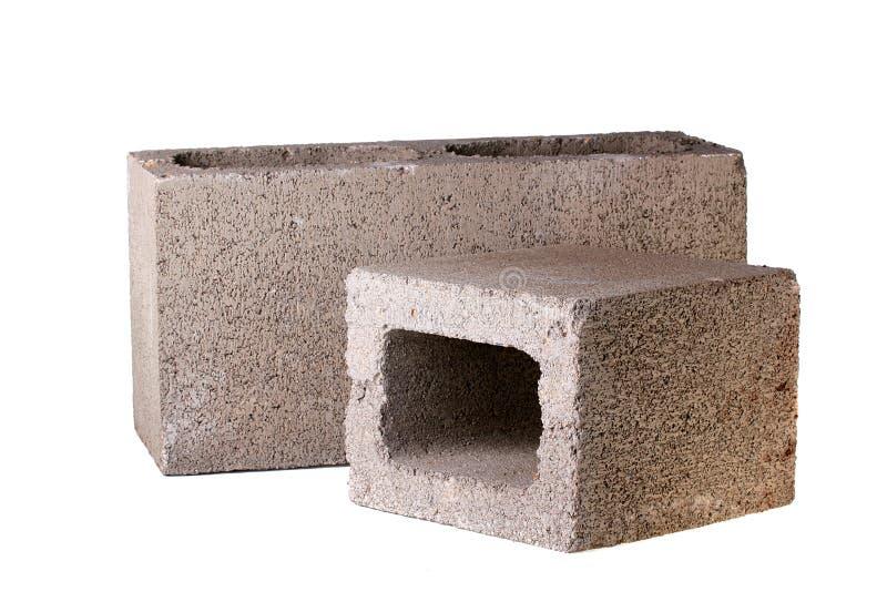 Briques de béton photographie stock