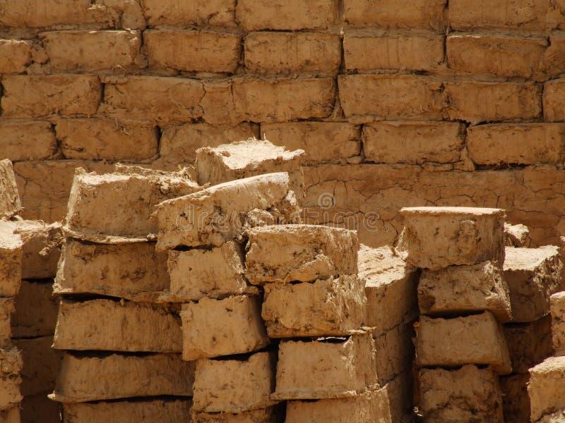 Briques de boue photos libres de droits
