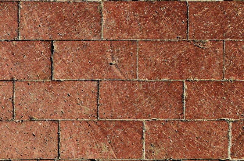 Briques empilées image stock
