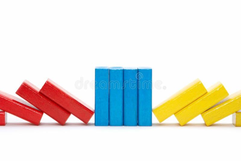 briques en bois image libre de droits