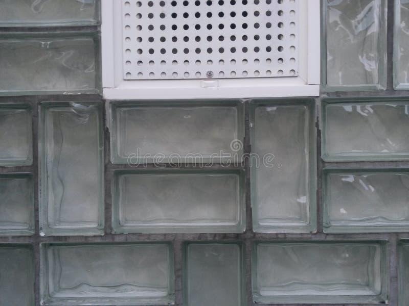 Briques en verre images libres de droits