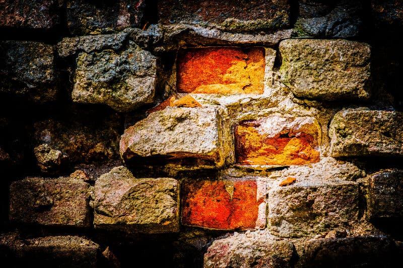 Briques et mortier photos libres de droits