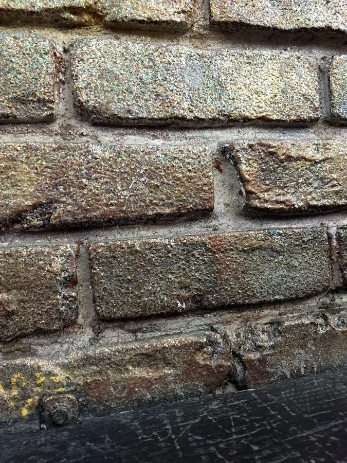Briques scintillantes photos libres de droits